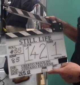Still Life timecode clapper