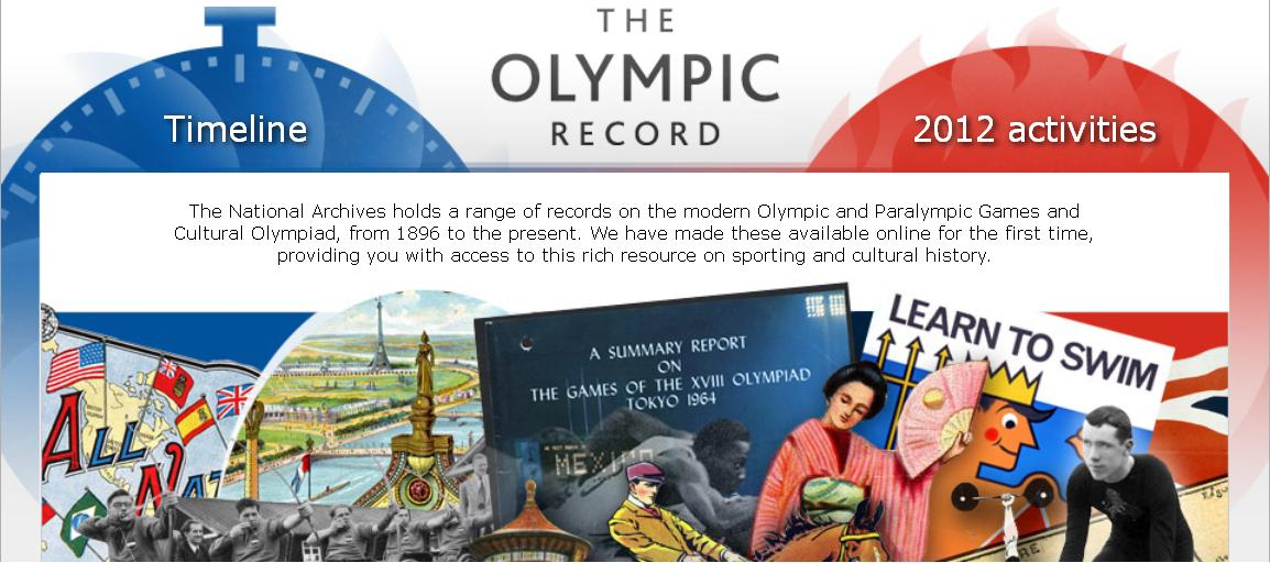 Olympic Record website