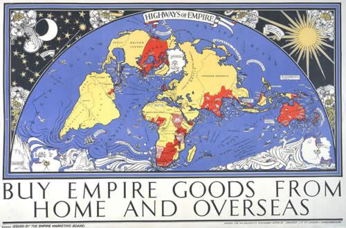 Empire Marketing Board 1927 'Highways of Empire' (Catalogue ref. CO 956/537 A)