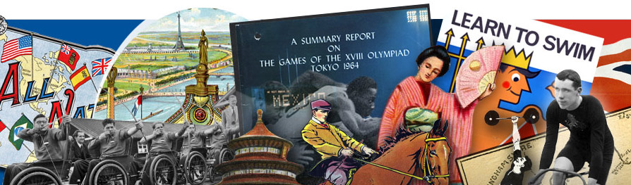 The Olympic Record banner