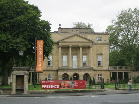 View of the facade of the Holburne museum