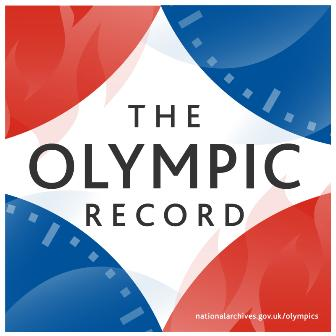 The Olympic record logo