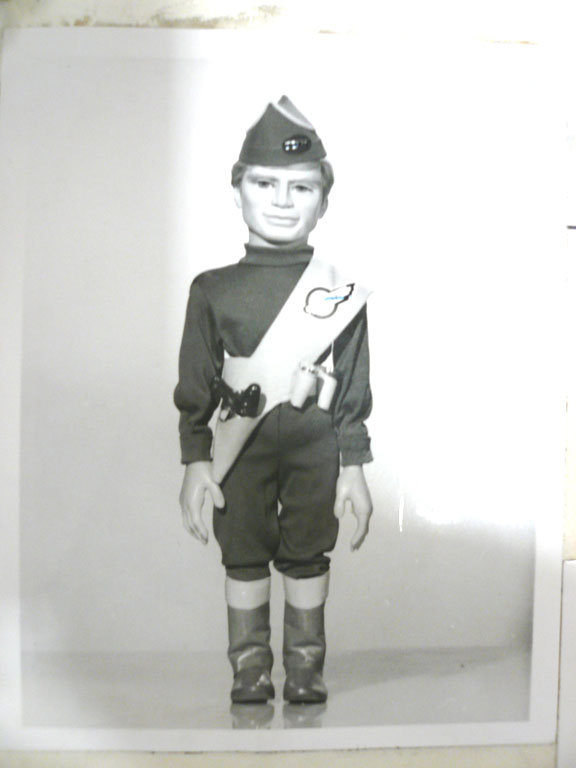 Gordon Tracy Thunderbirds puppet