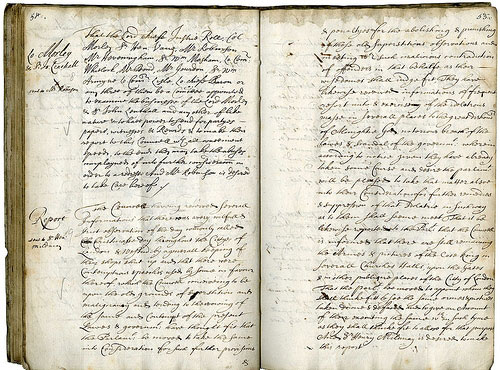 Oliver Cromwell's plan to ban Christmas in 1650. What value does it have now? (Catalogue ref SP 25/15)