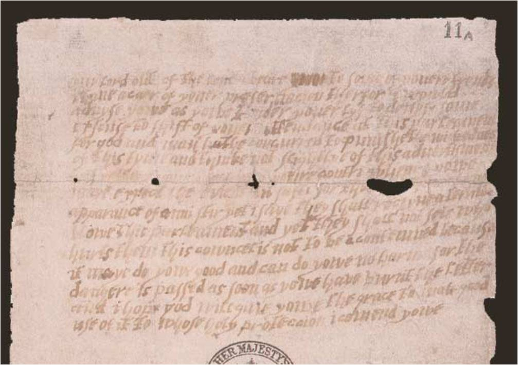 Image of The Monteagle Letter