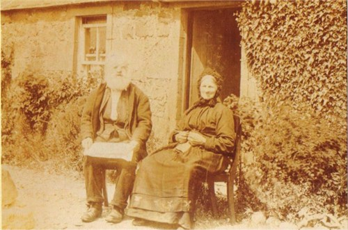 Robert and Mary Donaldson (photograph from private collection)