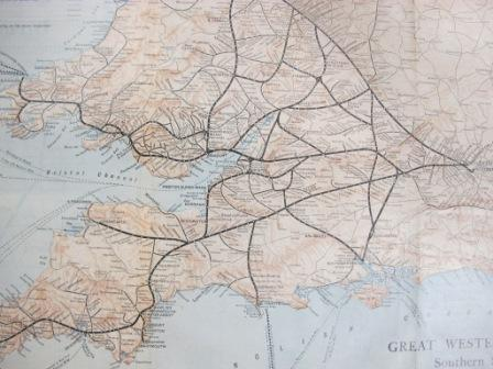 Western tentacles of the Great Western Railway (reference RAIL 936/48)
