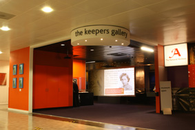 New entrance to The Keeper's Gallery