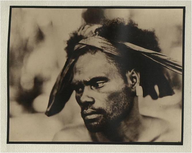 Tekasua, Rennell Island, British Solomons, 1935