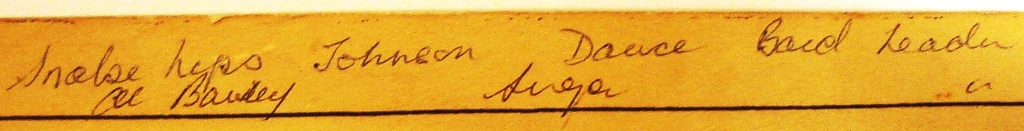 A note written in the margin of the Café de Paris plan names Snakehips Johnson as one of the victims (reference: HO 193/68).