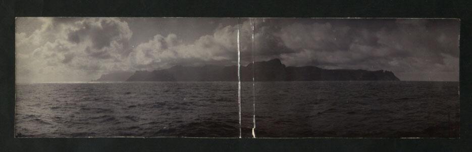 Approaching St Helena, circa 1906