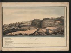 Geological formation St Helena, Robert F. Seale, 1834