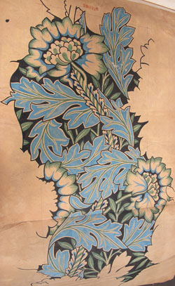 Morris & Co 'Anemone' design