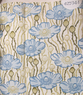 Furniture fabric registered by Liberty's