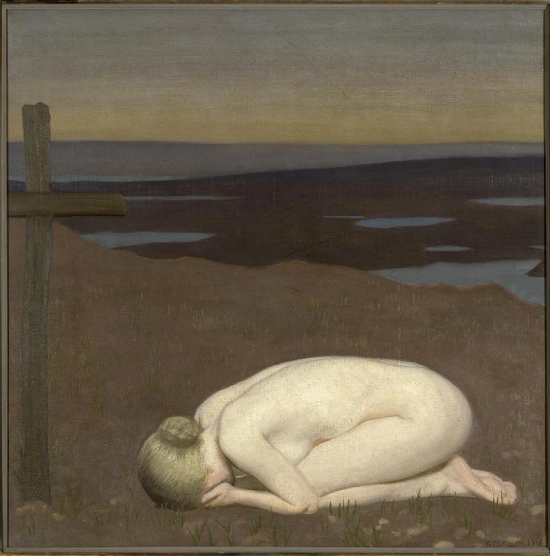 Youth Mourning by Sir George Clausen RA © IWM (Art.IWM ART 4655)