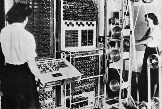 The Colossus electronic digital computer