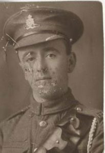 Walter in uniform, presumably before being posted to Salonika (Image: family collection)