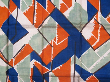 'Maud' fabric designed by Vanessa Bell