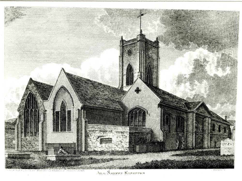 All Saint's Church, Kingston. SHC REF: PH/84/4