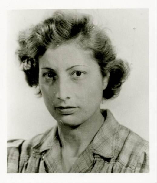 A photo of Noor Inayat Kahn taken from her SOE file.
