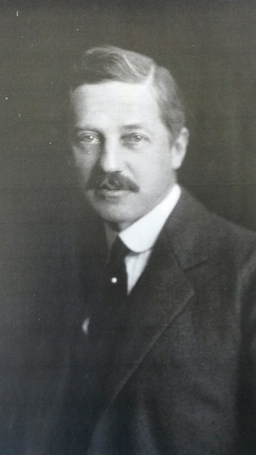 Portrait of Gus Mayer, aged about 40