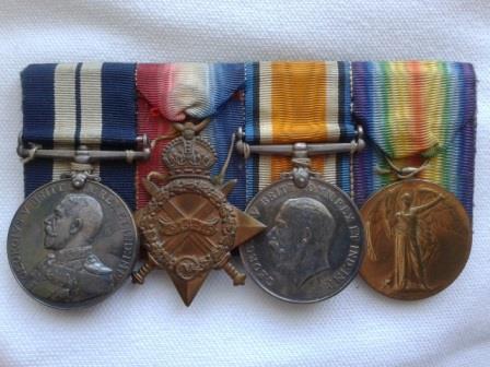 Bell's First World War Medals.