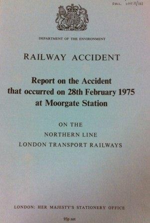 Report Cover (RAIL 1053/161/5).