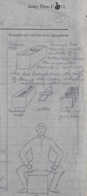 WO 95/1703/1: 24 Field Ambulance war diary, July 1915.