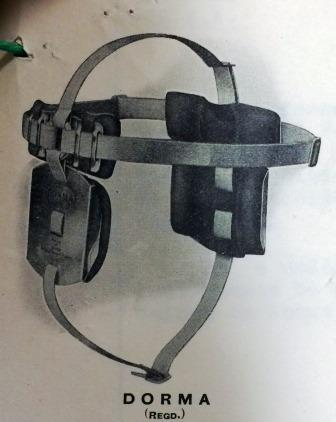 Image of a Dorma hearing aid model from headed paper (catalogue reference: PIN 38/450)