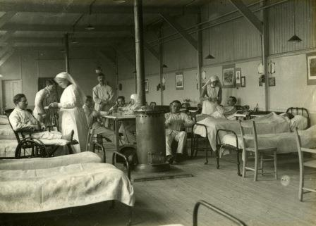 First World War hospital in Birtley, County Durham, catalogue reference:MUN 5/157.