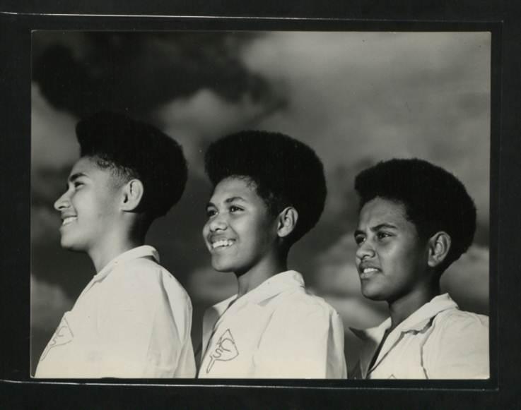 Fijian pupils of Adi Cakobau Girls' School  (catalogue reference: CO 1069/652/39)