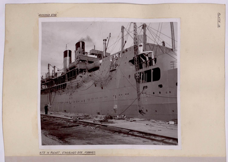 ADM 189/142 SS ARANDORA STAR, 1940