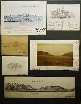 1. Sketches and photograph dated 1863 – 1911 of St John's Harbour, Newfoundland. Cat ref: ADM 344/2393