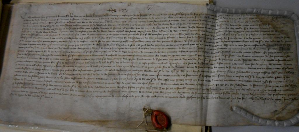 Sir James Haryngton's Indenture (catalogue reference E 101/69/3/361)