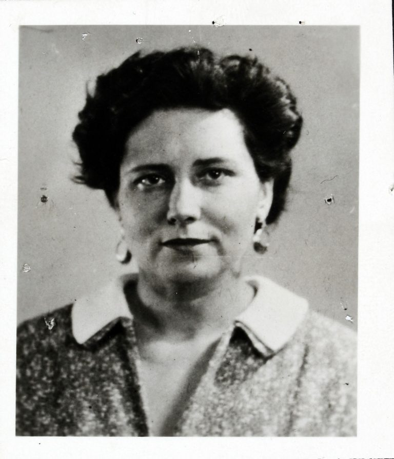An undated photograph of Doris Lessing who was a member of the Communist Party of Great Britain until 1956 and was the drama critic for the Daily Worker in 1954 (catalogue reference: KV 2/4058)