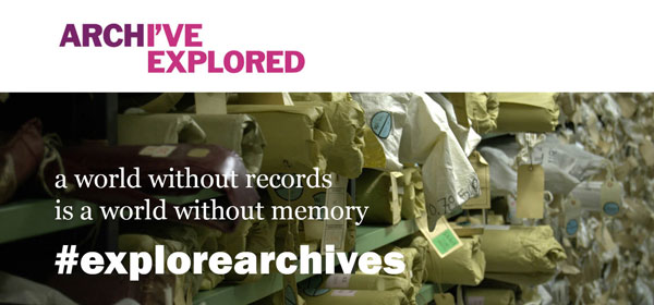 Image reading: a world without records is a world without memory #explorearchives