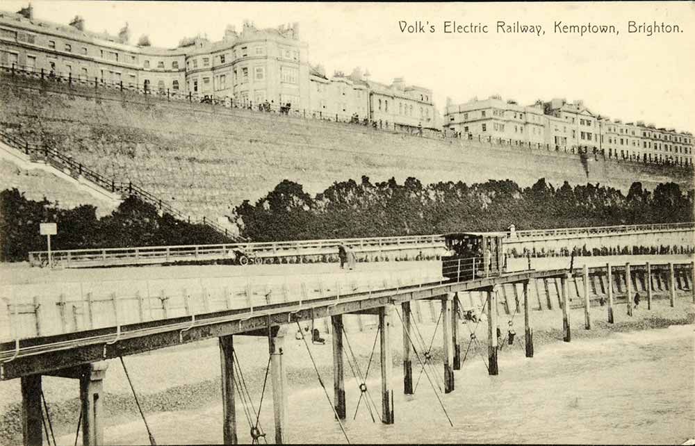 The elevated section of Volk's