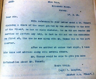 Admiralty correspondence (catalogue reference: ADM 137/1477)
