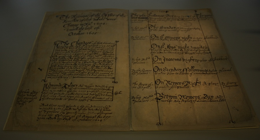 Account of Edmund Tylney Master of the Revels for 1604-1605 (catalogue reference: AO 3/908/13)