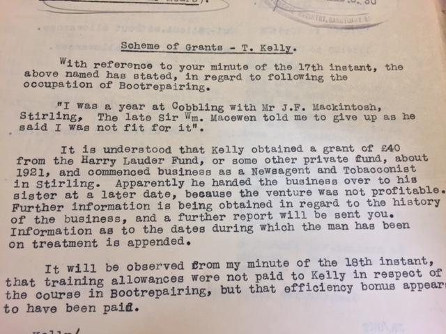 Scheme of Grants Letter