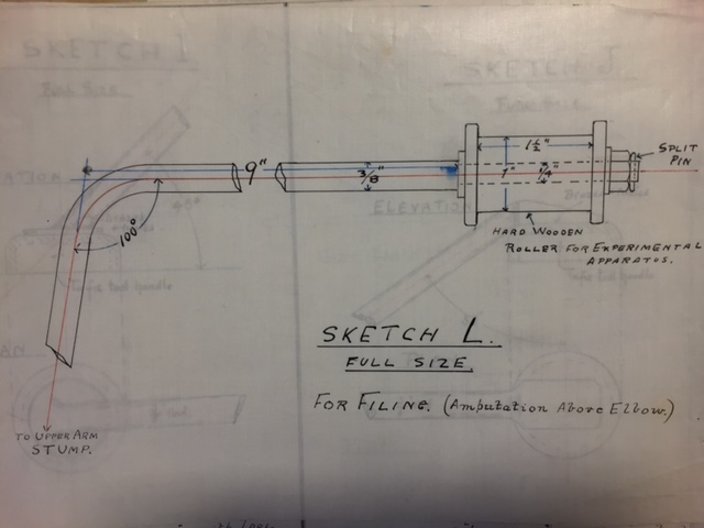Plans for adapted equipment.