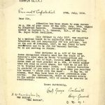 Siegfried Sassoon concern over state of mental health, 1918. Document reference: WO 339/51440.
