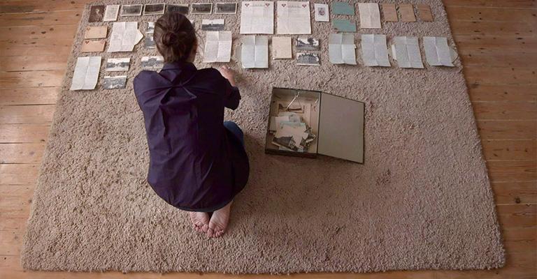 Video still from 'Carpet Piece' by Sarah Kogan