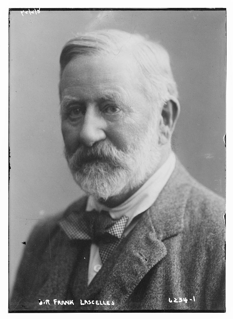 Photograph of Sir Frank Lascelles