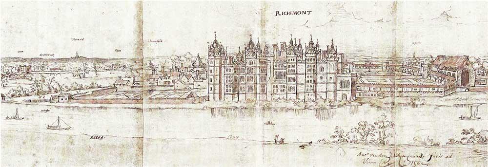 Image of an illustration of Richmond Palace