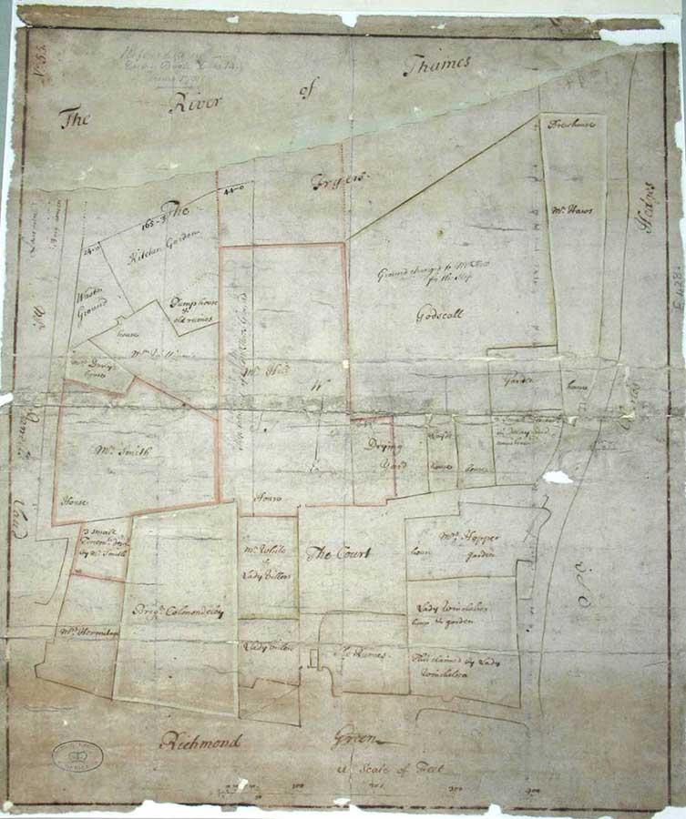 Image of a plan of Richmond Palace
