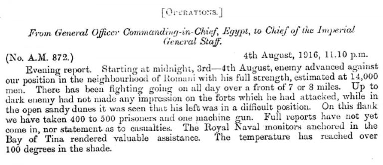Murray to Robertson, 04/08/1916 (catalogue reference: CAB 42/17/3)