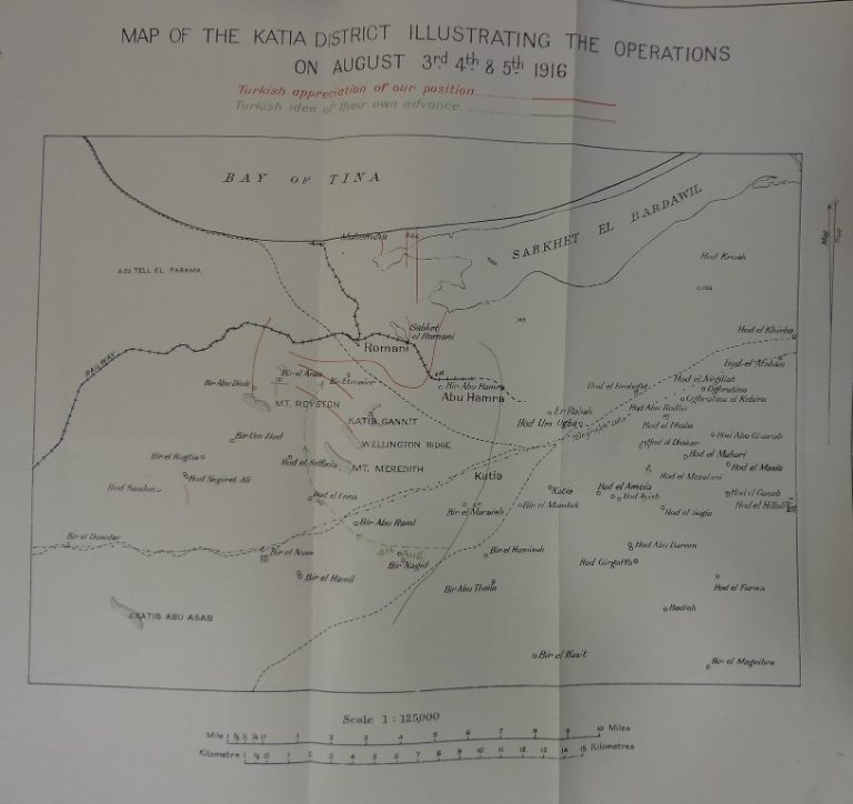 Map of the Katia district (catalogue reference: AIR 1/2292/209/75/81)
