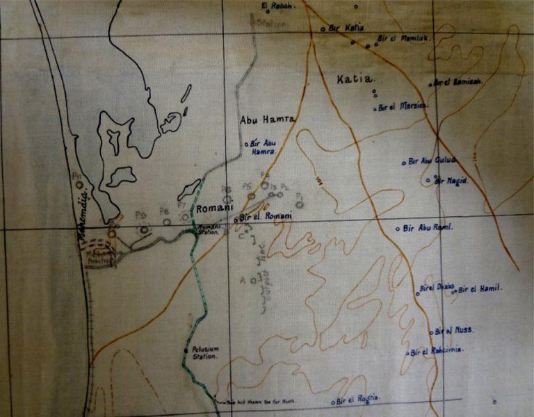 Sinai Peninsula, Romani District (catalogue reference: WO 153/1046)