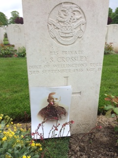 Image of gravestone for James Stanley Crossley